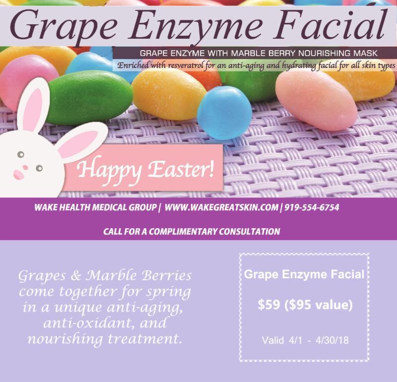 grape enzyme facial