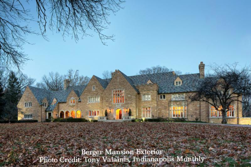 Photo of the Berger Mansion exterior_ photo credit_ Tony Valainis_ Indianapolis Monthly