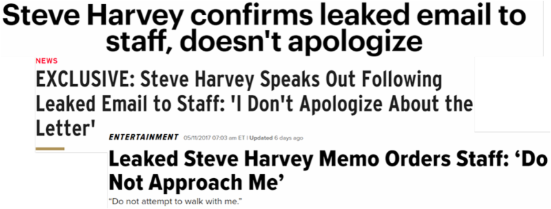 what can we learn from steve harvey?