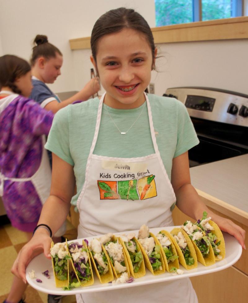 Kids Cooking Green Gift Certificate