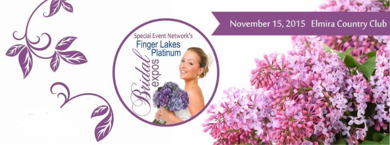 Special Event Network's Finger Lakes Platinum Bridal Expo. Elmira Country Club, Nov 15, 2015