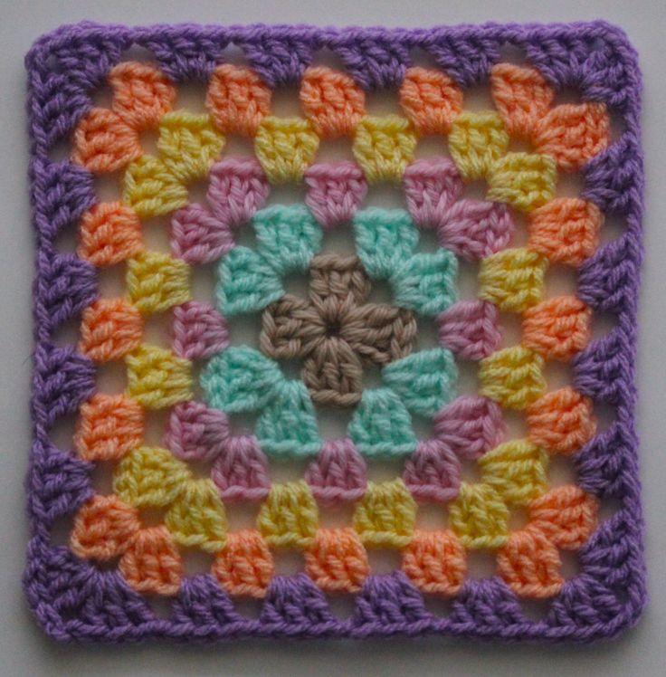 Beginning Crochet: Granny Squares