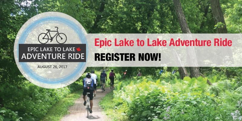 Epic Lake to Lake Adventure Ride Image