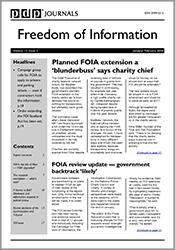 Freedom of Information Journal