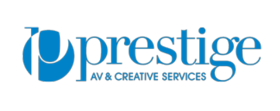 Prestige logo white background
