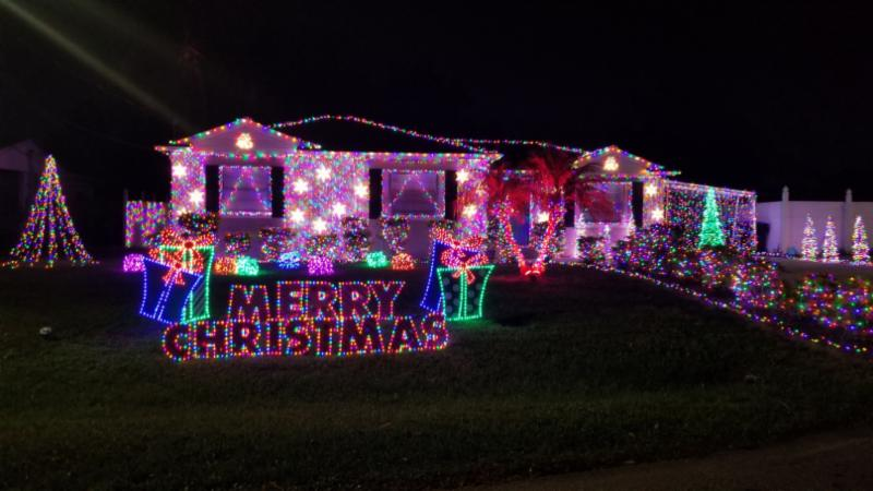 Crestwood Christmas Lights, College Park