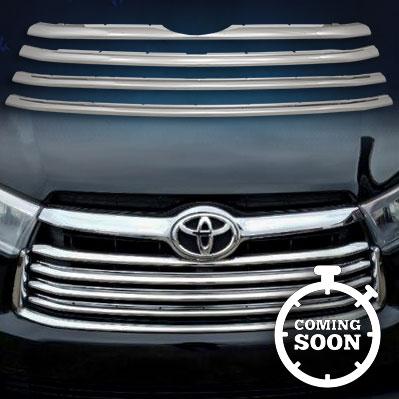 GI153  CCI Grille Overlays  14-18 Toyota Highlander