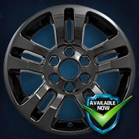 IMP377BLK Impostor Series Wheel Skins 14-18 Chevrolet Silverado 15-18 Chevrolet Tahoe 18in, Gloss Black