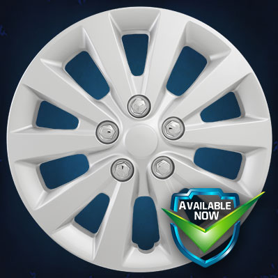 52116S (Silver)  52116C (Chrome)  CCI Wheel Covers  13-18 Nissan Sentra
