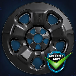 IMP91BLK Impostor Series Wheel Skins  14-18 Jeep Cherokee 17in, Gloss Black