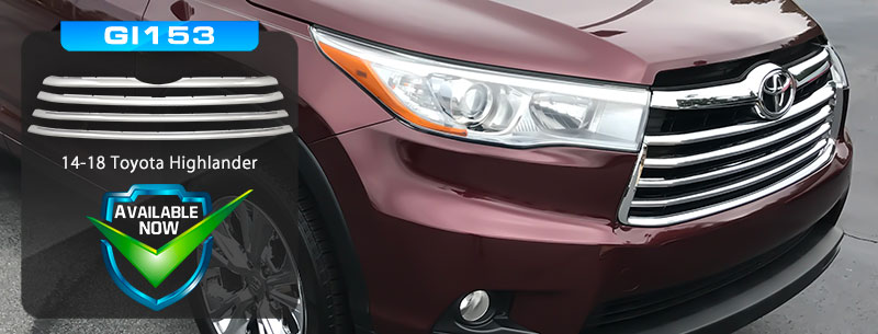 CCI Grille Overlays for Toyota Highlander