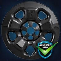 IMP91BLK  [Black]  IMP91X  [Chrome] Impostor Series Wheel Skins 14-18 Jeep Cherokee 17in, Gloss Black & Chrome