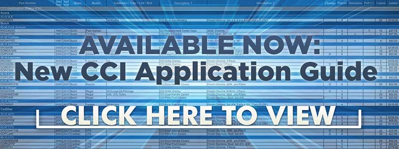Available Now: New CCI Application Guide