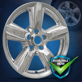 IMP408X (Chrome) IMP408BLK (Black) Impostor Series Wheel Skins  15-18 Ford Mustang 17in, Chrome