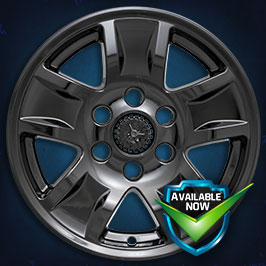 IMP390BLK  Impostor Series Wheel Skins  16-18 Chevrolet Silverado 1500 17in, Gloss Black