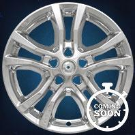 IMP398X Impostor Series Wheel Skins 13-15 Chevrolet Camaro 18in, Gloss Black & Chrome