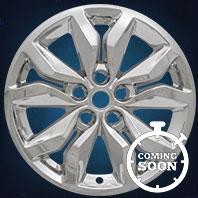 IMP407X Impostor Series Wheel Skins 16-17 Chevrolet Impala 18in, Gloss Black & Chrome