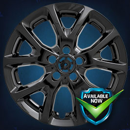 IMP382BLK  Impostor Series Wheel Skins 14-18 Jeep Cherokee 17in, Gloss Black