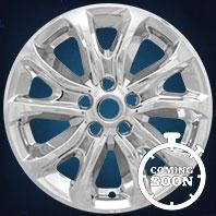 IMP409X Impostor Series Wheel Skins 2018 Chevrolet Equinox 17in, Gloss Black & Chrome