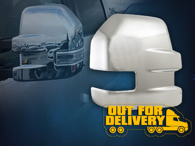 MC67514  CCI Mirror Covers  15-17 Ford F-150 Full Mirror Covers ETA: 5-7 Business Days. Pre-order today!