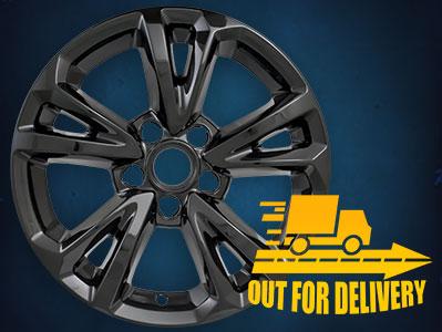 IMP384BLK  Impostor Series Wheel Skins  16-17 Chevrolet Equinox 17in, Gloss Black