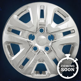 52217  CCI Wheel Covers  15-17 Dodge Grand Caravan  17in,8046, Chrome/Silver