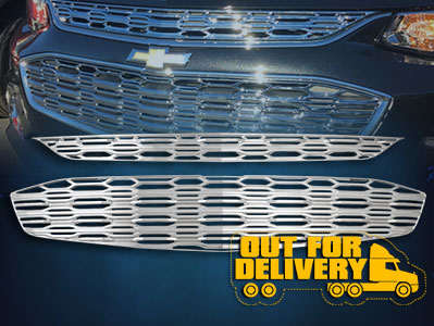 GI144  CCI Grille Overlays  16-17 Chevrolet Malibu ETA: 5-7 Business Days. Pre-order today!