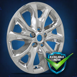 IMP409X (Chrome) IMP409BLK (Gloss Black) Impostor Series Wheel Skins 18-19 Chevrolet Equinox 17in