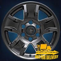 IMP390BLK Impostor Series Wheel Skins 14-17 Chevrolet Silverado 17in, Gloss Black