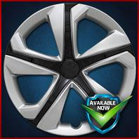 52016SB CCI Wheel Covers 16-18 Honda Civic 16in, Silver/Black