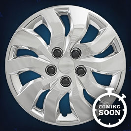 51516  CCI Wheel Covers  15-17 Chevrolet Malibu  16in, 8052, Chrome/Silver