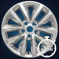 IMP399X Impostor Series Wheel Skins 16-17 Kia Sorrento 17in, Gloss Black & Chrome