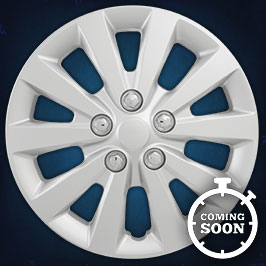 52116S  CCI Wheel Covers  13-17 Nissan Sentra  16in, 53089, Silver