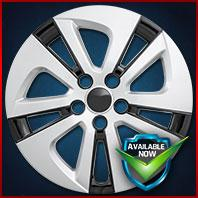 51615SB CCI Wheel Covers 16-17 Toyota Prius 15in, Silver/Black