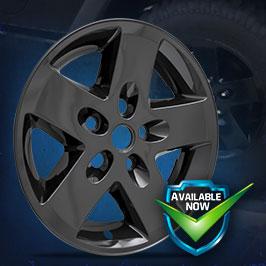 IMP340BLK (Black) IMP340XN (Chrome) Impostor Series Wheel Skins 07-17 Jeep Wrangler 17in, Black