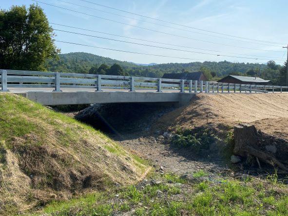 Completed Enosburgh Bridge