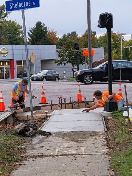 US7 Sidewalk replacement
