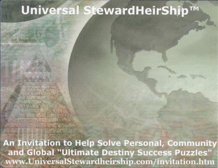 Universal Stewardheirship Invitation