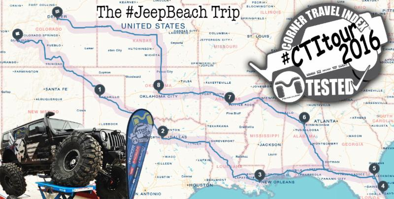 Jeep Beach Map