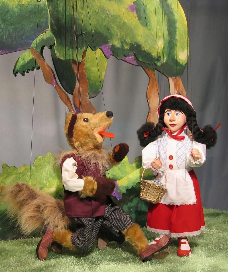 Little Red meets the Wolf