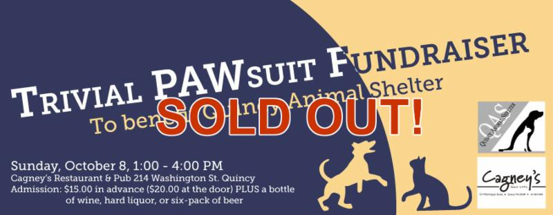 Quincy Animal Shelter's Trivial PAWsuit event