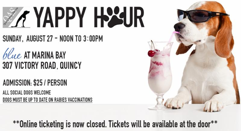 2017 Yappy Hour header - Closed