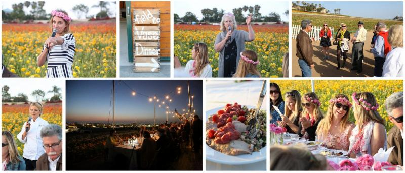 Find more fine photos from The Flower Fields Field to Vase dinner on Flickr!