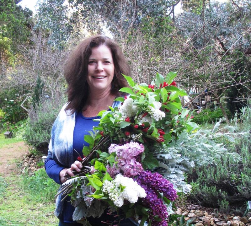 Guest designer Teresa Sabankaya, Bonny Doon Garden Co.