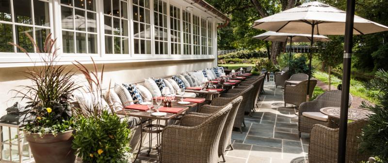Towpath Terrace at Golden Pheasant Inn