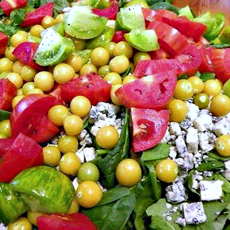 Tomato _ Gorgonzola Salad