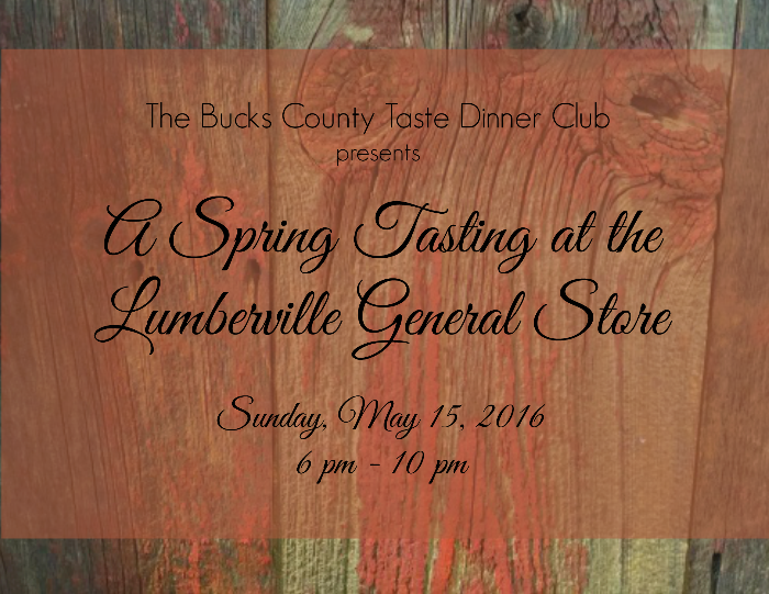 A Spring Tasting at the Lumberville General Store