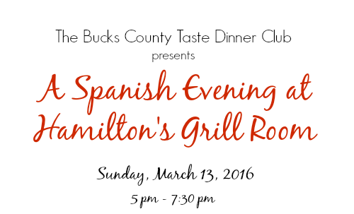 A Spanish Evening at Hamilton_s Grill Room
