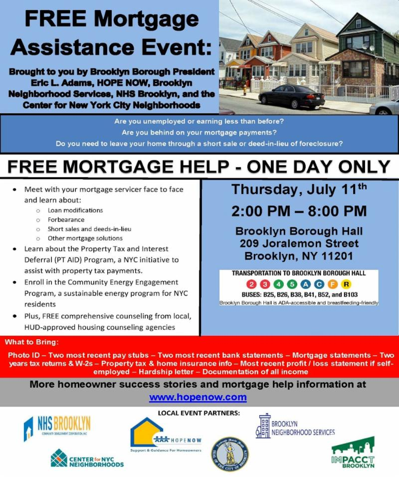 FREE Mortgage Assistance Event