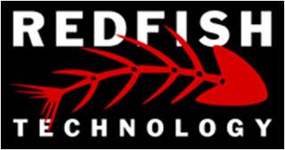 Redfish Classic Logo Black Background